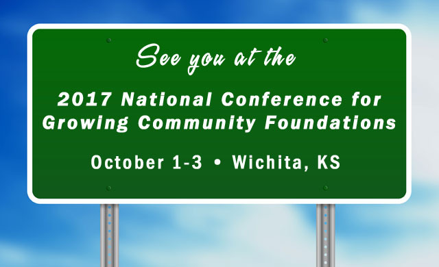 Evergreen is Headed to the 2017 National Conference for Growing Community Foundations