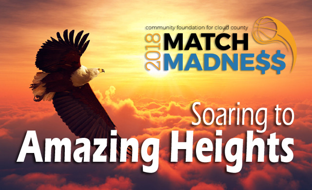 Match Madness raises over $65,000 for Cloud County area nonprofits