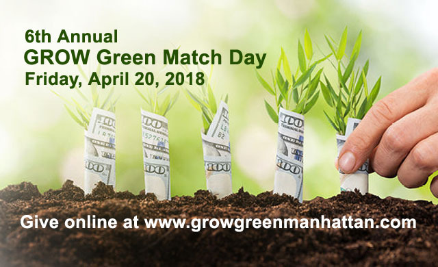 GROW Green Match Day Presents Unique Giving Opportunity