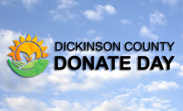 It's Time to Donate, Dickinson County!